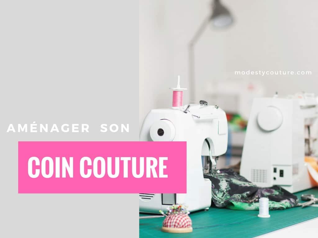 Aménager un atelier couture chez soi facilement