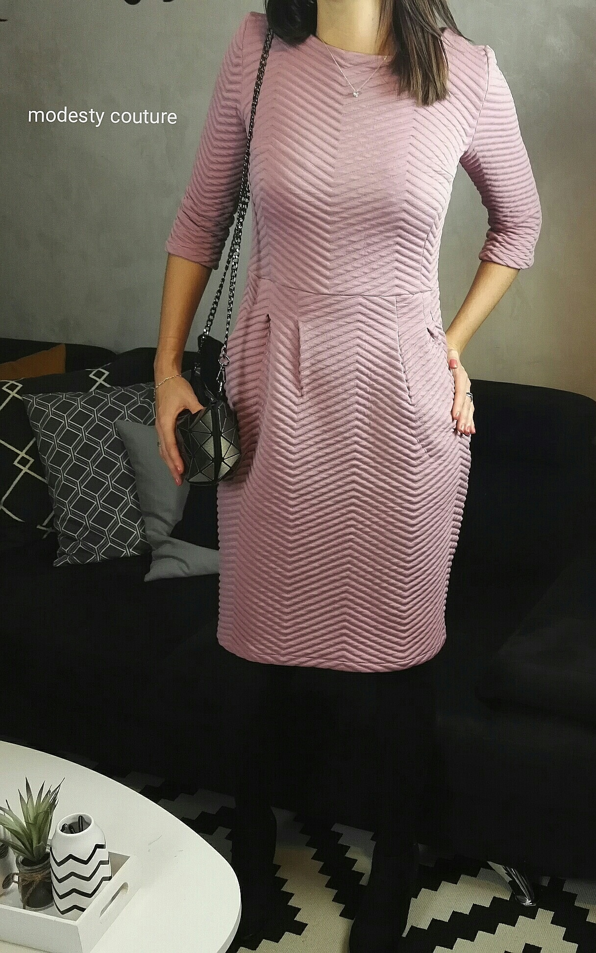 Robe Lora Maison Victor - Modesty Couture le Blog