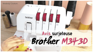 surjeteuse Brother M343D