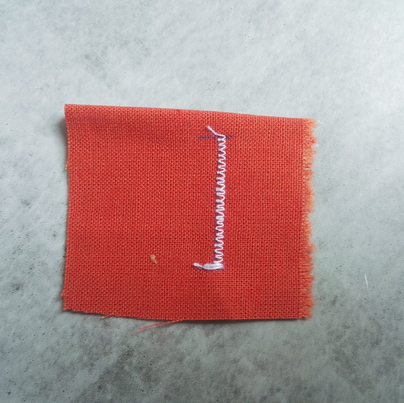 sewing a lidl buttonhole