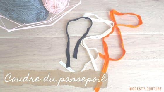Coudre du passepoil (définition et tuto)