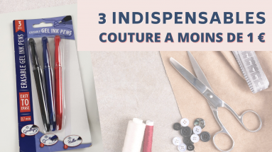 INDISPENSABLES COUTURE A 1 EURO